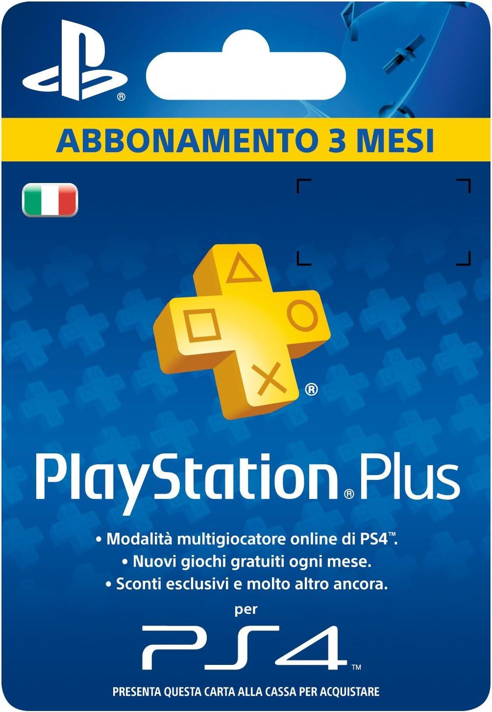 Sony Psn PS Plus Hanging Card 3 MESI: Amazon.es: Videojuegos
