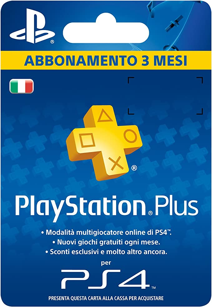 Sony Psn PS Plus Hanging Card 3 MESI: Amazon.es: Videojuegos