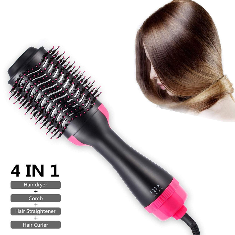 Amazon.com: Secador de pelo con cepillo de aire caliente, 3 ...