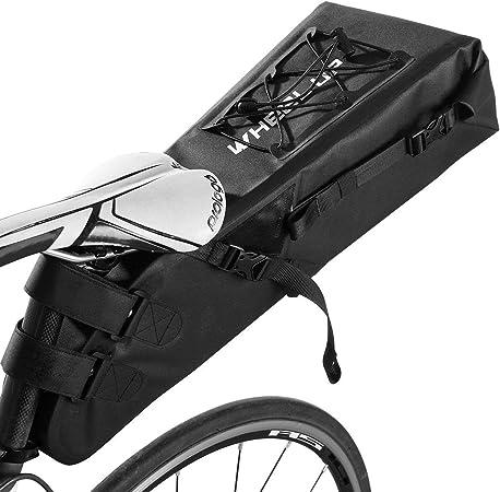 Waterproof MTB Mountain Road Bike Saddle Bag Seat Pouch Bicycle Rear Storage UK
