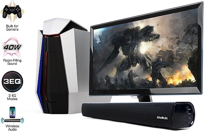 AVerMedia Sonicblast - Barra de Sonido para Gaming, Color Negro: Avermedia: Amazon.es: Electrónica