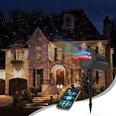 Proiettore Per Luci Natalizie.Proiettore Natale Esterno Innoolight Rgb Alloggiamento Di Alluminio Impermeabile Proiettore Luci Natale Decorazione Di Natale All Aperto Luci Di