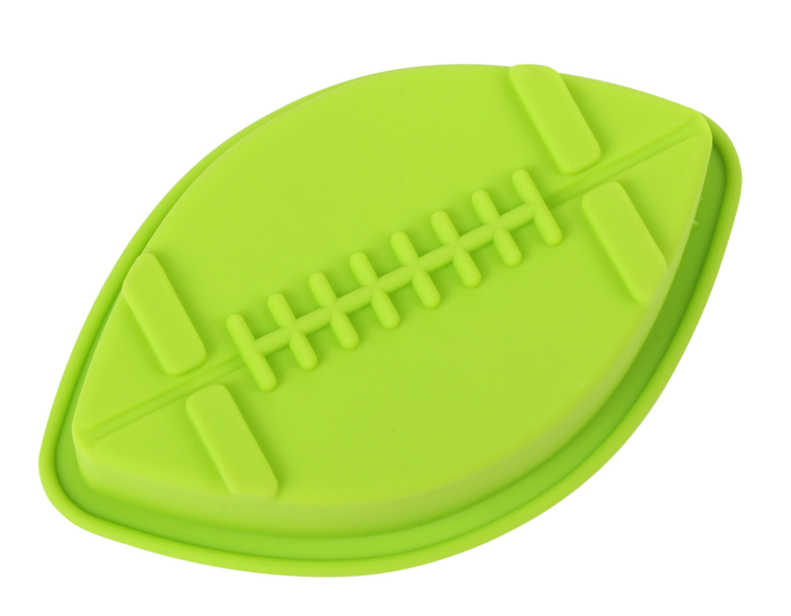 Home Value Colorful Silicone Sports Ball Set'' Soccer, Tennis, Baseball, Basketball '' Cake Mold, Assorted Colors (HVCOOKIECUTSC09) by Value Home (Image #2)