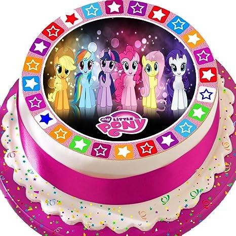 PRECUT EDIBLE ICING LARGE CAKE TOPPER