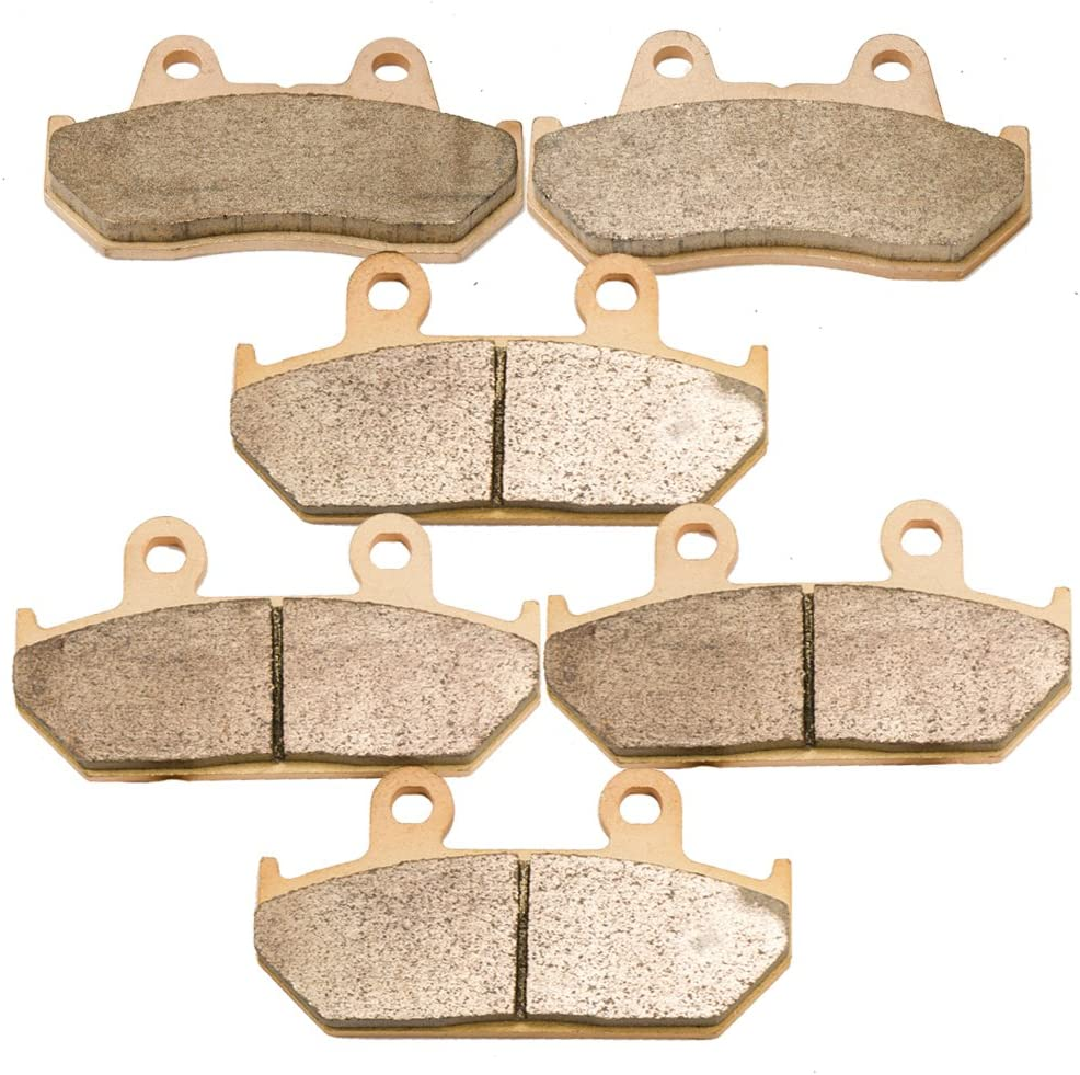Foreverun Motor Front and Rear Sintered Brake Pads for Honda GL1500 GL 1500 Valkyrie Tourer 1997 1998 1999