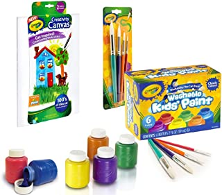 product image for Crayola Washable Kid's Paint (6 count) (Paint Art Set)