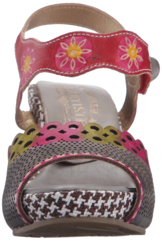 naturaleza cuarto inspirado correa de sandalia con preforado y cortes de lser tambin un gancho y lazo cierre
