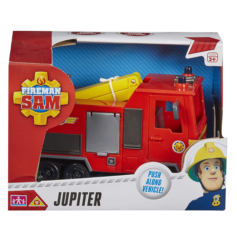 Kids Toy Truck Fireman Sam Jupiter Vehicle Fun Kids Playset Perfect Gift Boys