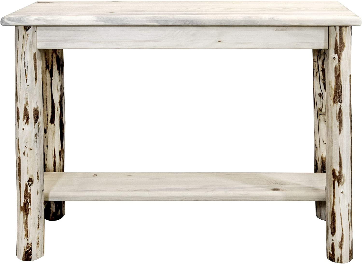 Amazon Com Montana Woodworks Montana Collection Console Table With Shelf Ready To Finish Furniture Decor