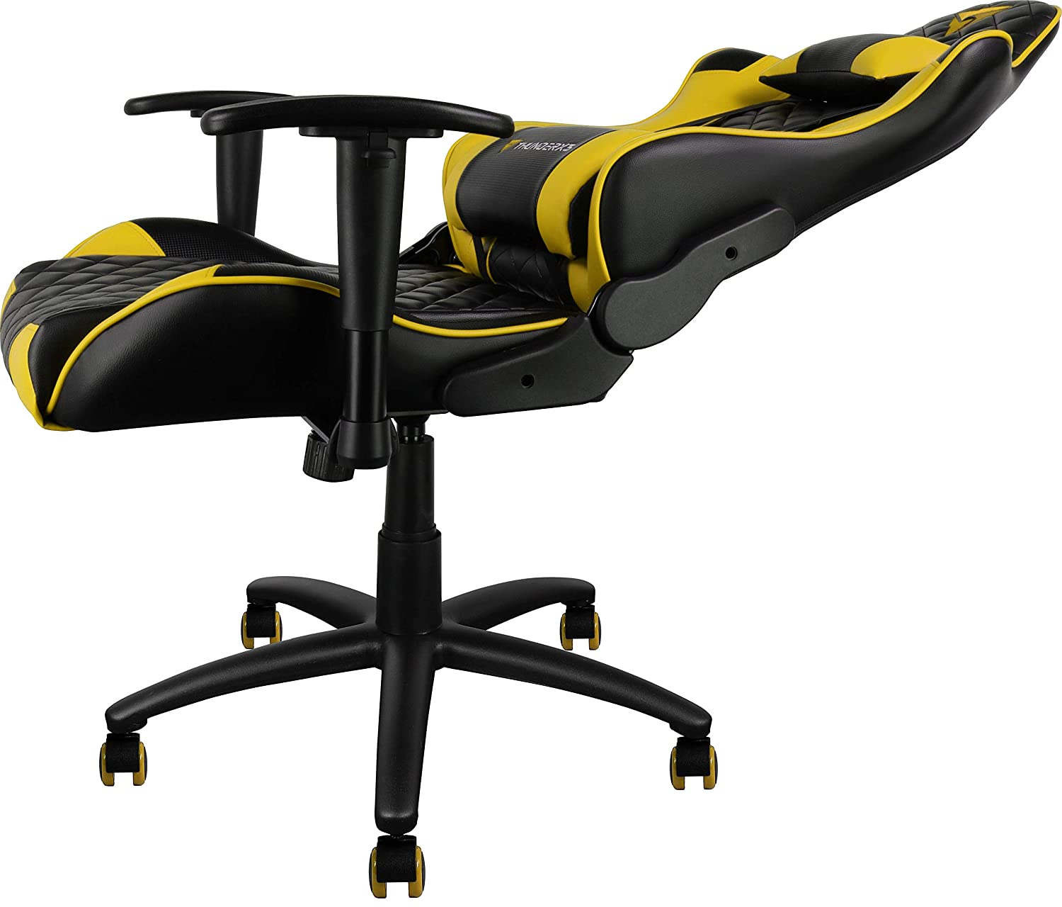 ThunderX3 Spain TGC12BY Sillas Gaming Profesional, Amarillo: Amazon.es: Hogar