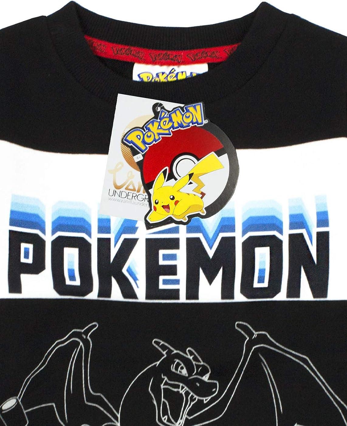 POKEMON pannelli Ragazzo T-shirt