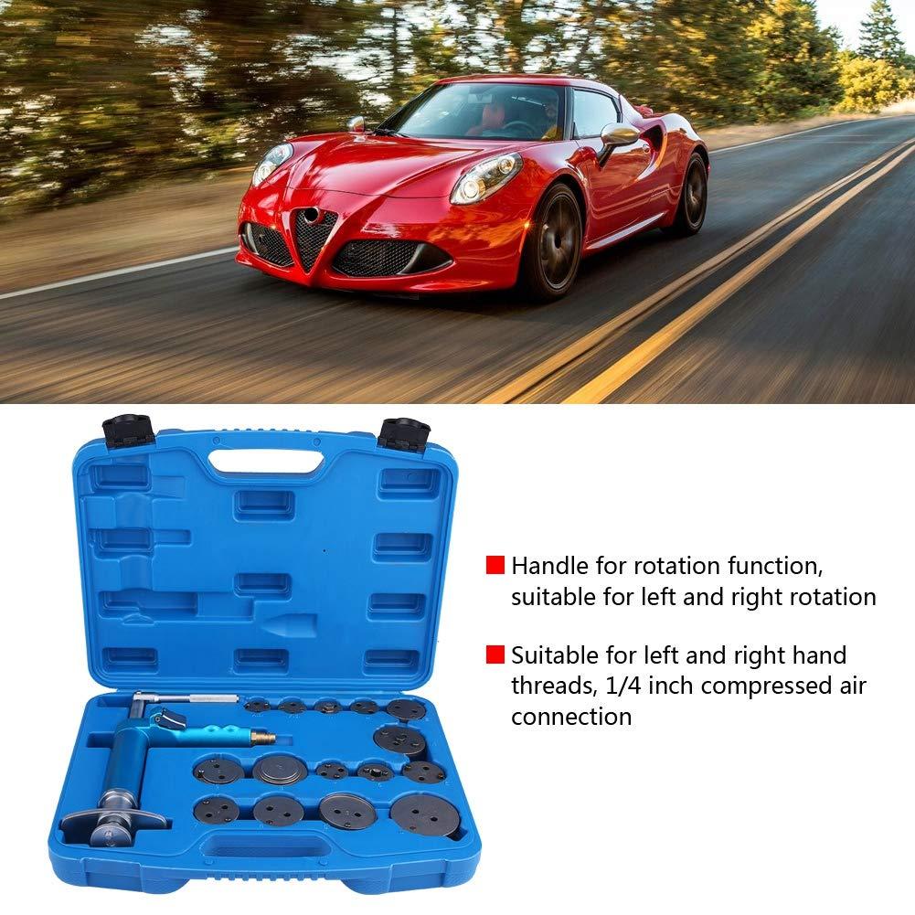 Zerone Master Disc Brake Caliper Compressor Tool Set, 16 Pcs Universal High Duty Air Brake Piston Reset Wind Back Repairing Tool Equipment Brake Pad Replacement Kit by Zerone (Image #4)