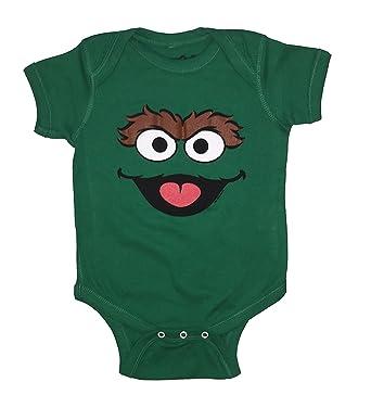 Amazon Com Sesame Street Baby Boys Oscar The Grouch One