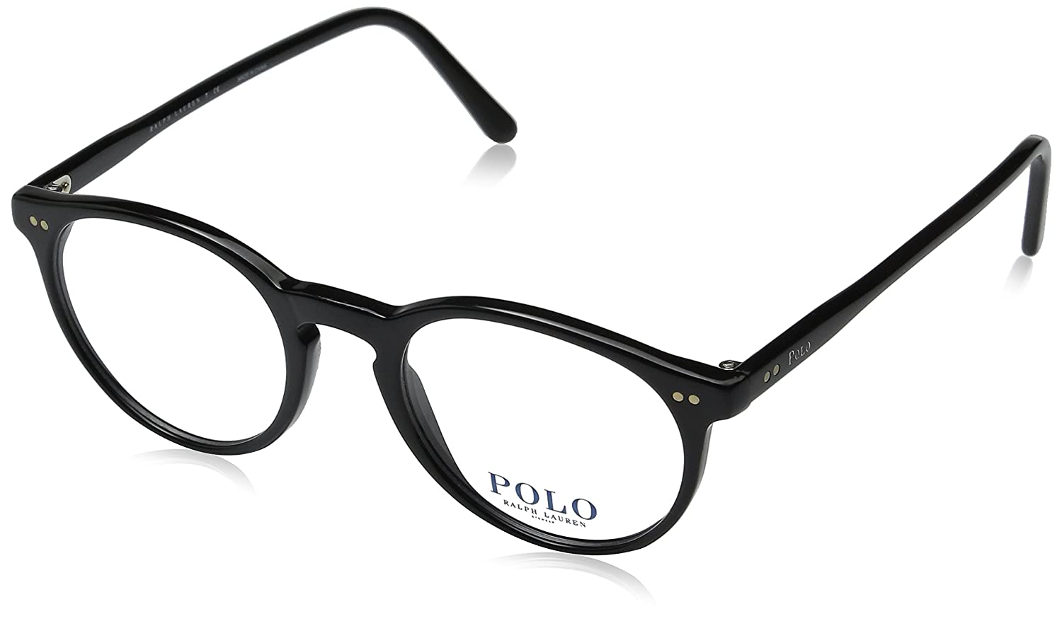 56f522a61f Amazon.com  Polo Men s PH2083 Eyeglasses Shiny Black 48mm  Shoes