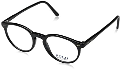 f2661c85087 Image Unavailable. Image not available for. Color  Polo Men s PH2083  Eyeglasses Shiny Black 48mm