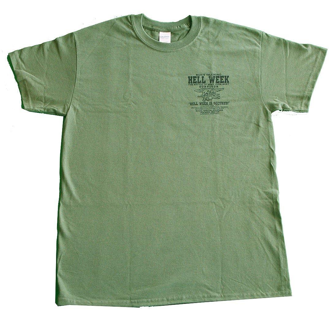 US Navy Seals Hell Week T-Shirt Devgru UDT Underwater Demolition Team