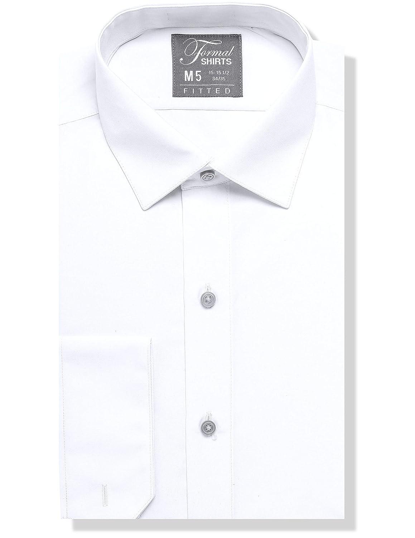 9e947658f7b Luxe Microfiber Men s Fitted Dress Shirt or Tuxedo Shirt