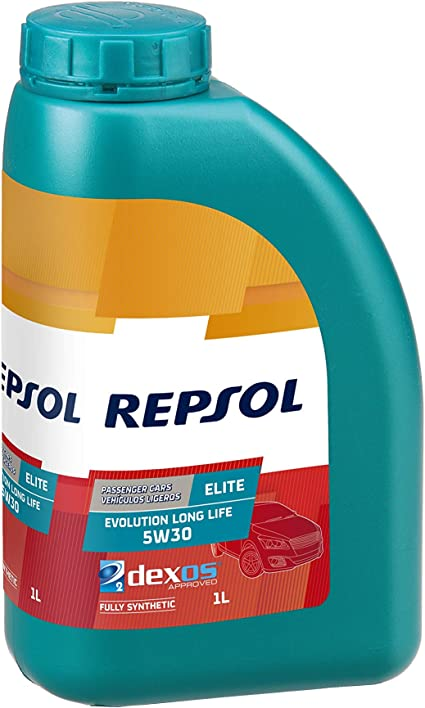 Repsol RP141Q51 Elite Evolution Long Life 5W-30 Aceite de Motor ...