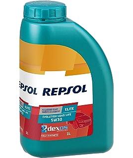 Repsol RP135U51 Elite L Life 50700/50400 5W-30 Aceite de Motor para Coche, 1 L: Amazon.es: Coche y moto