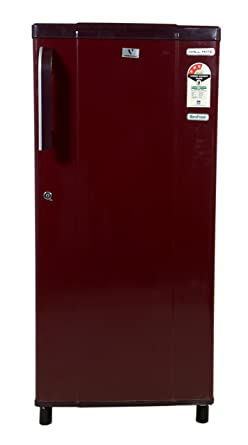 videocon 190 l 3 star direct cool single door refrigerator(vae203, red)