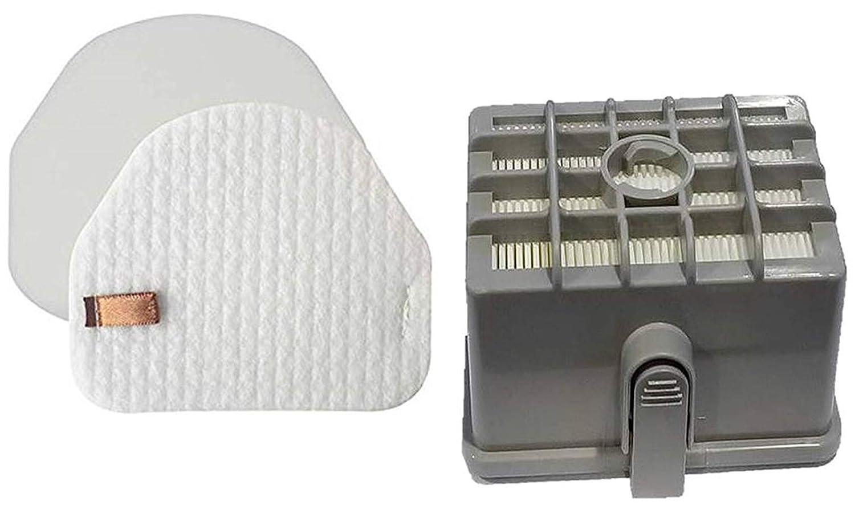 Casa Vacuums Shark DuoClean Slim Upright Vacuum Filter Kit; Hepa, Foam, Felt Filters; fits NV200, NV200C, NV200Q, NV201, NV202, NV202C; XFF450 & XHF450
