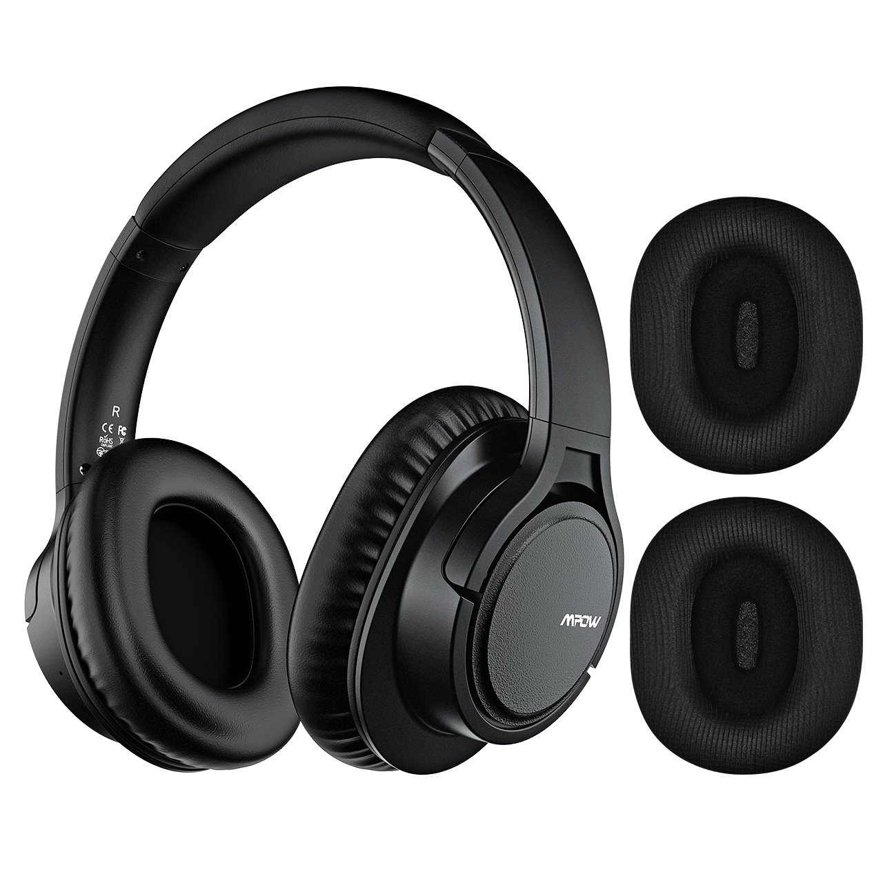 Auriculares : Mpow H7 Plus Aptx Bass Bluetooth Y Con Cable Incluye Microfono