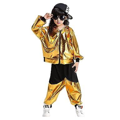 Dreamowl Kinder Tanz Kostüme Hip-Hop Jazz Performance Halloween ...