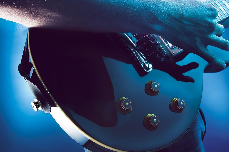 Amazon.com: 14163 Sistema de bloqueo de la correa para la guitarra eléctrica / Bajo (Calaveras): Musical Instruments