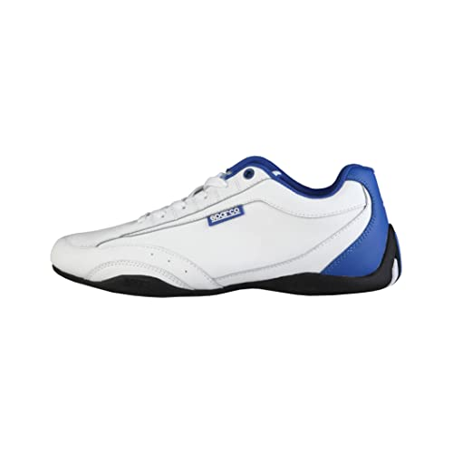 Sparco Zapatillas Zandvoort Blanco/Azul Royal EU 46: Amazon.es: Zapatos y complementos