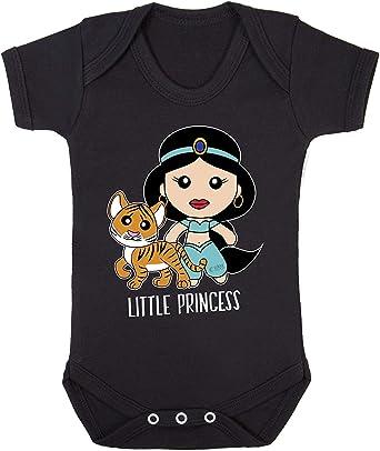 Aladdin Princesa Jasmine Cool Print Bodysuits Disfraz Hipoalergénico 100% algodón Verde Caqui Recién Nacido: Amazon.es: Ropa y accesorios