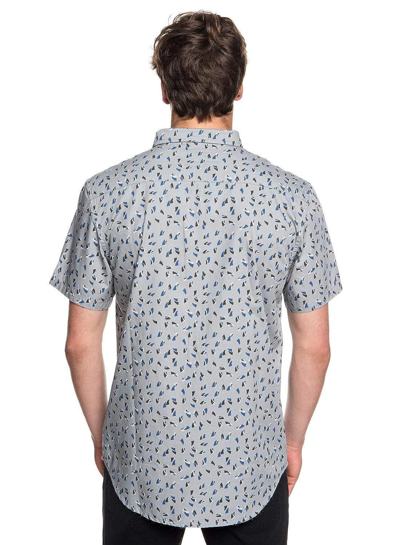 QUIKSILVER Mens Akan Waters Button Down Shirt