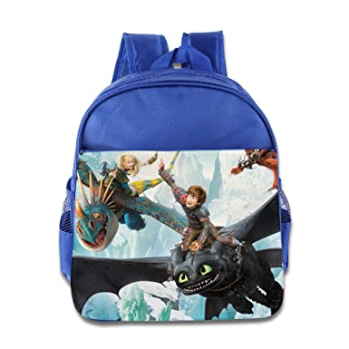 0285dbbf3ec Amazon.com | Kids How To Train Your Dragon School Backpack Cool Children  School Bag RoyalBlue | Kids' Backpacks