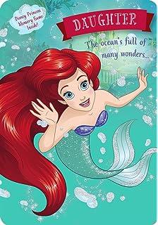 Little Mermaid Personalised Birthday Card FREE ShippingAriel Daughter Girls Wenskaarten, briefpapier Feesten, speciale gelegenheden