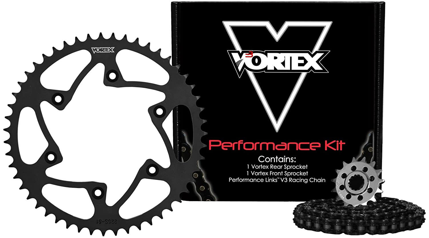 Vortex CK5102 Chain and Sprocket Kit Vortex Racing