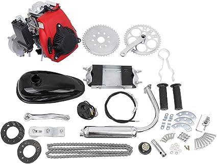 49 cc de 4 tiempos de gasolina motor para bicicleta motorizada Kit de Motor: Amazon.es: Coche y moto