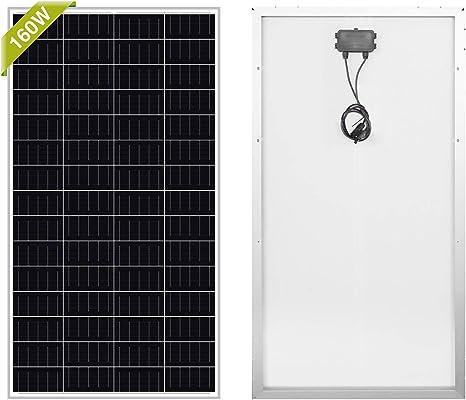 Newpowa 160W Monocrystalline Solar Panel