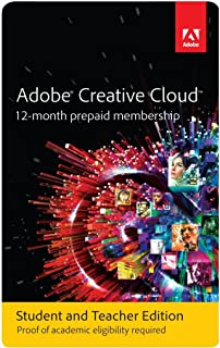 Amazon.com: Adobe Student & Teacher Edition Creative Cloud ...