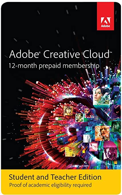 adobe creative cloud student discount