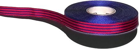 25 metros cinta bandera del Barça de 12 mm de ancho: Amazon.es: Hogar