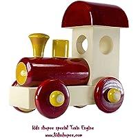 KIDS SHOPEE Hand made Pull Along Train Engine