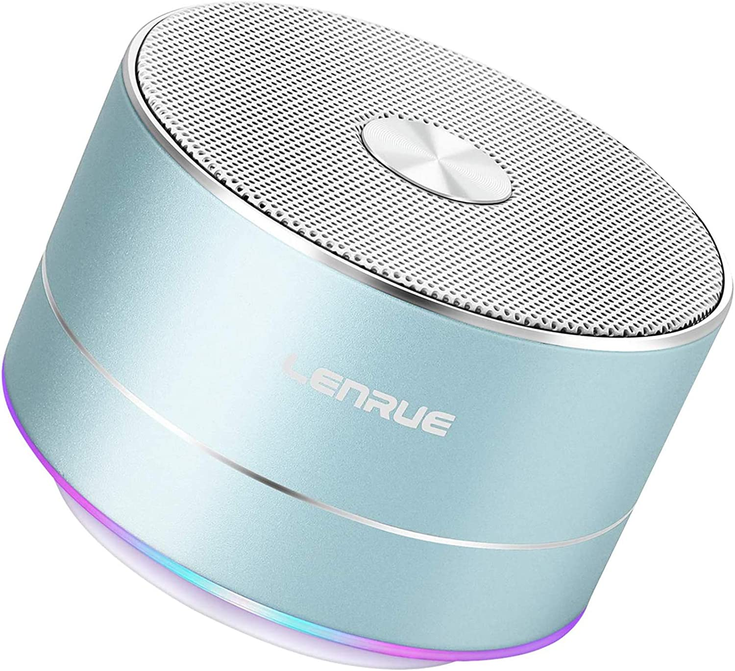 LENRUE Portable Wireless Bluetooth Speaker with Built-in-Mic,Handsfree Call,AUX Line,TF Card Slot,HD Sound and Bass for iPhone Ipad Android Smartphone and More