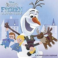Olaf's Frozen Adventure Wall Calendar (2019)