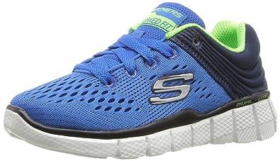 Skechers Equalizer 2.0 Post Season, Sneakers Basses Garçon, Bleu (Rybl), 39 EU