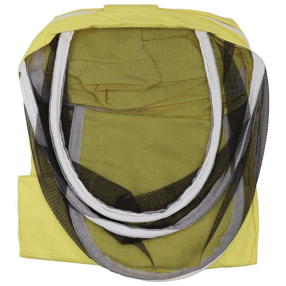Tuta protettiva da apicoltura per bambini M.Z.A in cotone giallo con velo protettivo per api L 1