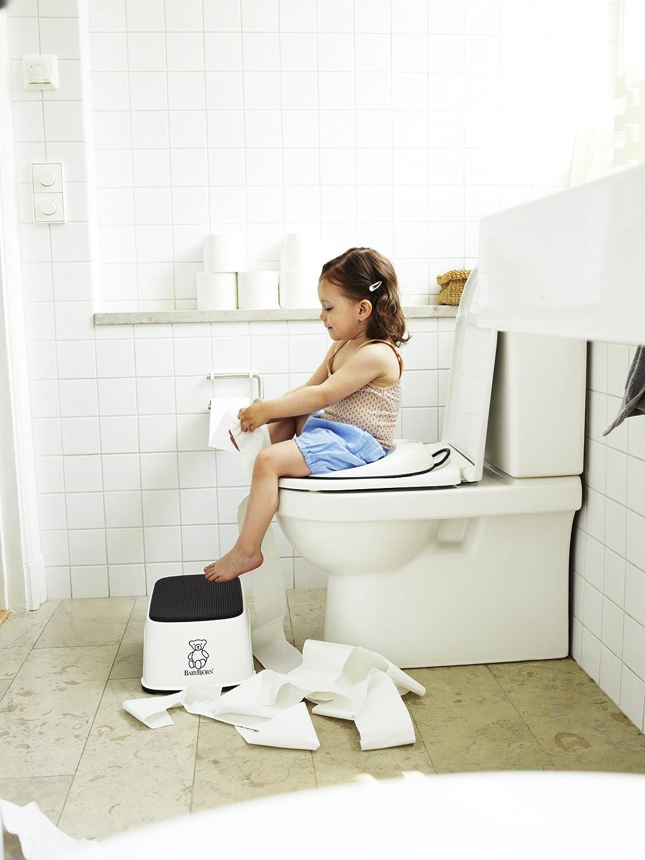 Amazon.com : BABYBJORN Toilet Trainer - White/Black : Diaper ...
