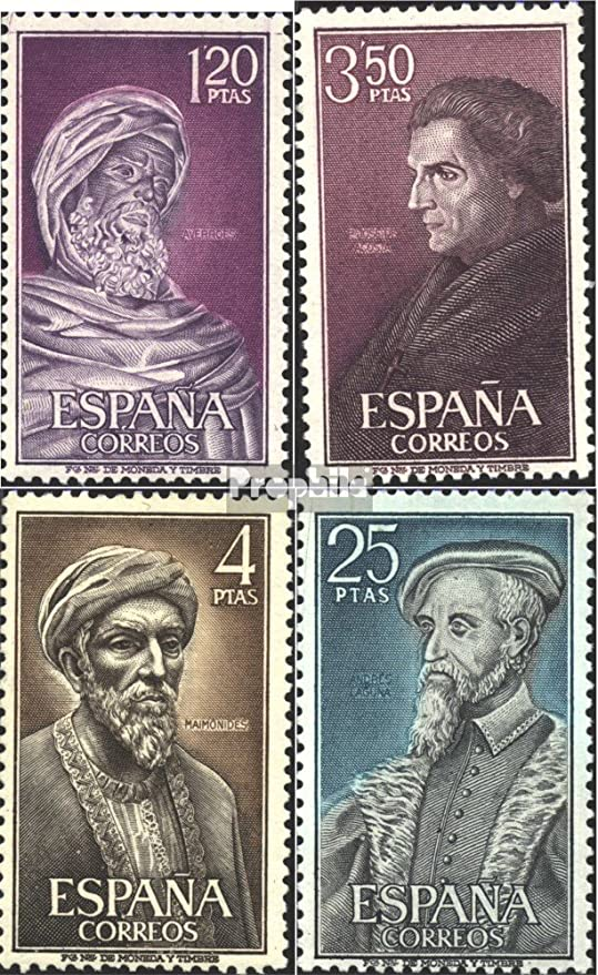 Prophila Collection España Michel.-No..: 1677-1680 (Completa.edición.) 1967 Famosos españoles (Sellos para los coleccionistas): Amazon.es: Juguetes y juegos