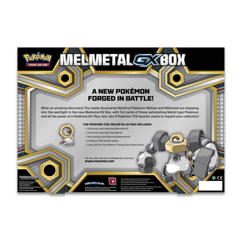 Melmetal-GX Box Pokémon POK80381 TCG