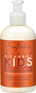 Shea Moisture Mango & Carrot Kids Extra-Nourishing Conditioner by Shea Moisture for Kids - 8 oz Conditioner, 294.83 grams