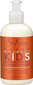 Shea Moisture Mango & Carrot Kids Extra-Nourishing Conditioner by Shea Moisture for Kids - 8 oz Conditioner, 294.83 grams