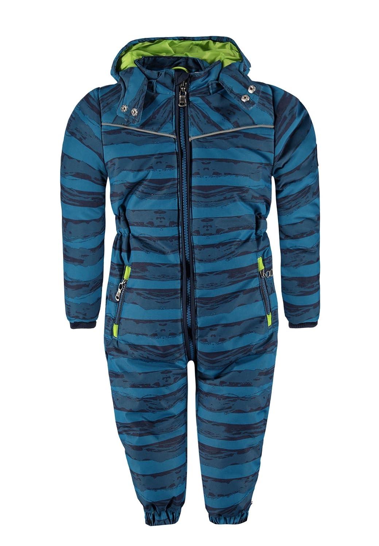 Kanz Jungen Sportswear-Set Schneeanzug m. abnehmbarer Kapuze 1, Gr. 80, Blau (seaport 3127) 1644502